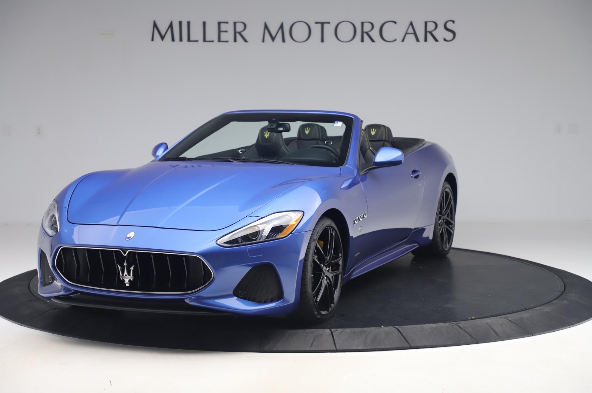 New 2019 Maserati GranTurismo Sport for sale Sold at Pagani of Greenwich in Greenwich CT 06830 1