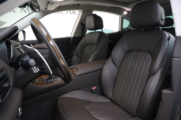 New 2020 Maserati Levante S Q4 GranLusso for sale $100,485 at Pagani of Greenwich in Greenwich CT 06830 17