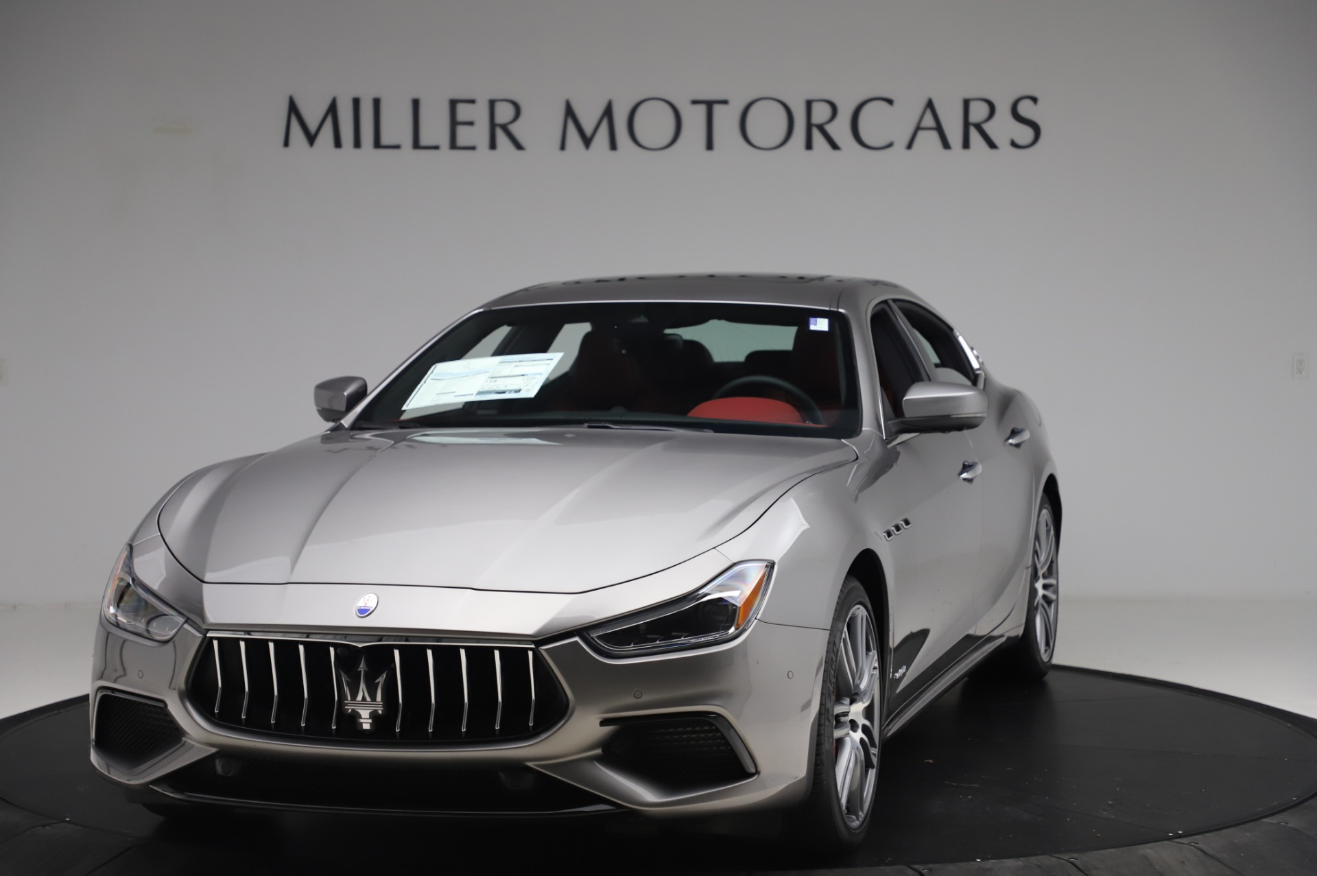 New 2020 Maserati Ghibli S Q4 GranSport for sale $93,285 at Pagani of Greenwich in Greenwich CT 06830 1