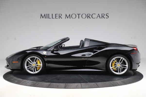 Used 2017 Ferrari 488 Spider for sale $284,900 at Pagani of Greenwich in Greenwich CT 06830 3