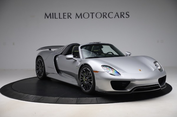 Used 2015 Porsche 918 Spyder for sale $1,355,900 at Pagani of Greenwich in Greenwich CT 06830 10