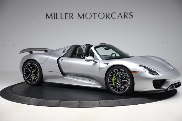 Used 2015 Porsche 918 Spyder for sale $1,355,900 at Pagani of Greenwich in Greenwich CT 06830 11