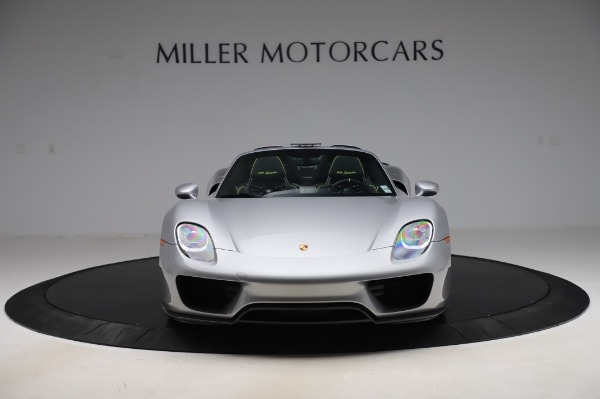 Used 2015 Porsche 918 Spyder for sale $1,355,900 at Pagani of Greenwich in Greenwich CT 06830 12