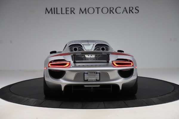 Used 2015 Porsche 918 Spyder for sale $1,355,900 at Pagani of Greenwich in Greenwich CT 06830 13