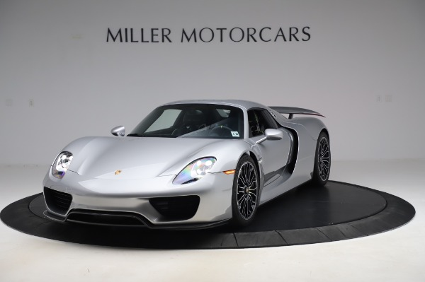 Used 2015 Porsche 918 Spyder for sale $1,355,900 at Pagani of Greenwich in Greenwich CT 06830 14
