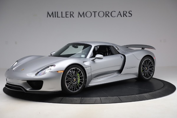 Used 2015 Porsche 918 Spyder for sale $1,355,900 at Pagani of Greenwich in Greenwich CT 06830 16