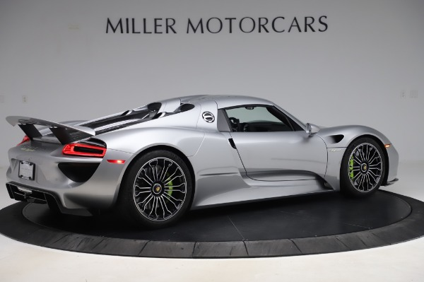 Used 2015 Porsche 918 Spyder for sale $1,355,900 at Pagani of Greenwich in Greenwich CT 06830 18