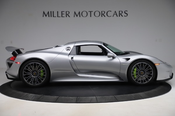 Used 2015 Porsche 918 Spyder for sale $1,355,900 at Pagani of Greenwich in Greenwich CT 06830 19