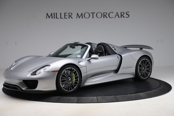 Used 2015 Porsche 918 Spyder for sale $1,355,900 at Pagani of Greenwich in Greenwich CT 06830 2