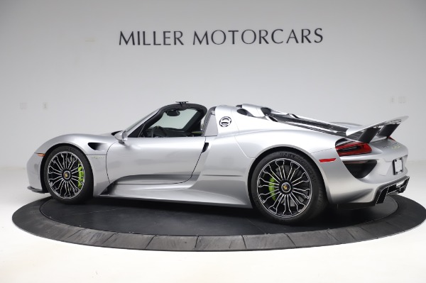 Used 2015 Porsche 918 Spyder for sale $1,355,900 at Pagani of Greenwich in Greenwich CT 06830 4