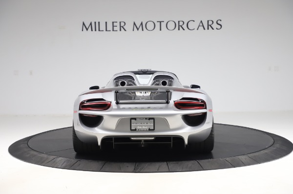 Used 2015 Porsche 918 Spyder for sale $1,355,900 at Pagani of Greenwich in Greenwich CT 06830 6