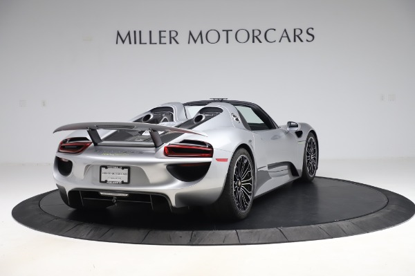 Used 2015 Porsche 918 Spyder for sale $1,355,900 at Pagani of Greenwich in Greenwich CT 06830 7