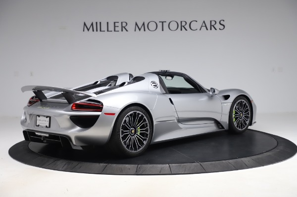 Used 2015 Porsche 918 Spyder for sale $1,355,900 at Pagani of Greenwich in Greenwich CT 06830 8