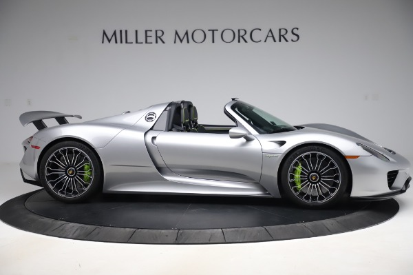 Used 2015 Porsche 918 Spyder for sale $1,355,900 at Pagani of Greenwich in Greenwich CT 06830 9