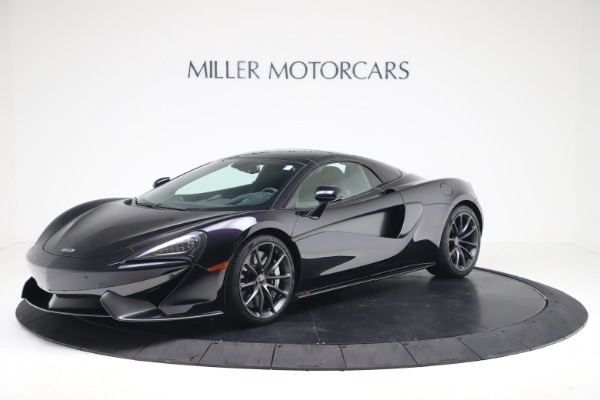 Used 2019 McLaren 570S Spider Convertible for sale $189,900 at Pagani of Greenwich in Greenwich CT 06830 10