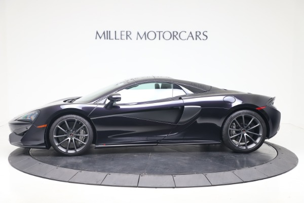 Used 2019 McLaren 570S Spider Convertible for sale $189,900 at Pagani of Greenwich in Greenwich CT 06830 11