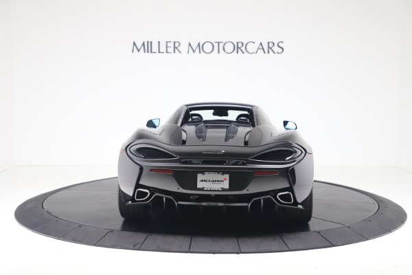 Used 2019 McLaren 570S Spider Convertible for sale $189,900 at Pagani of Greenwich in Greenwich CT 06830 13