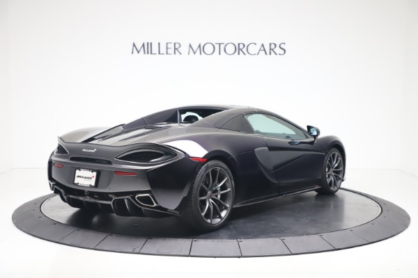 Used 2019 McLaren 570S Spider Convertible for sale $189,900 at Pagani of Greenwich in Greenwich CT 06830 14