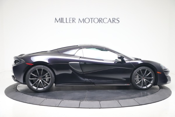 Used 2019 McLaren 570S Spider Convertible for sale $189,900 at Pagani of Greenwich in Greenwich CT 06830 15