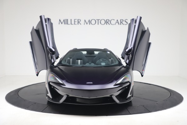 Used 2019 McLaren 570S Spider for sale $186,900 at Pagani of Greenwich in Greenwich CT 06830 17