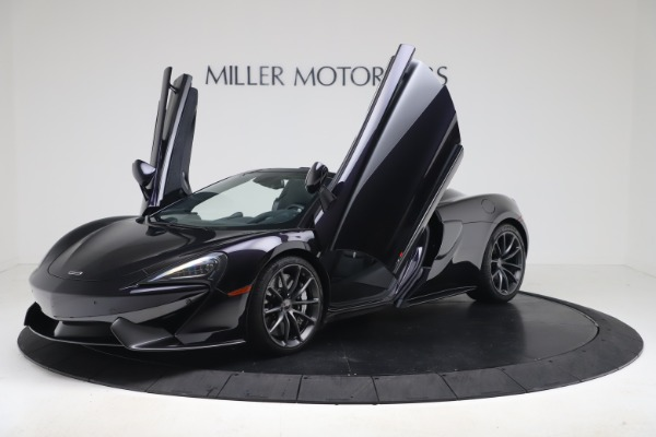 Used 2019 McLaren 570S Spider for sale Call for price at Pagani of Greenwich in Greenwich CT 06830 18