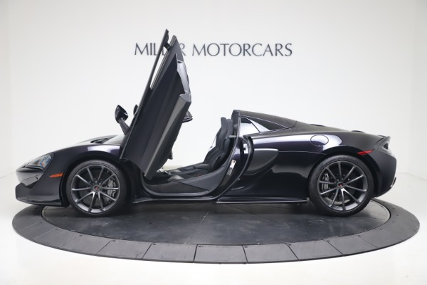 Used 2019 McLaren 570S Spider Convertible for sale $189,900 at Pagani of Greenwich in Greenwich CT 06830 19