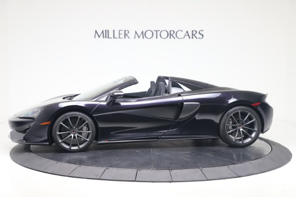 Used 2019 McLaren 570S Spider Convertible for sale $189,900 at Pagani of Greenwich in Greenwich CT 06830 2