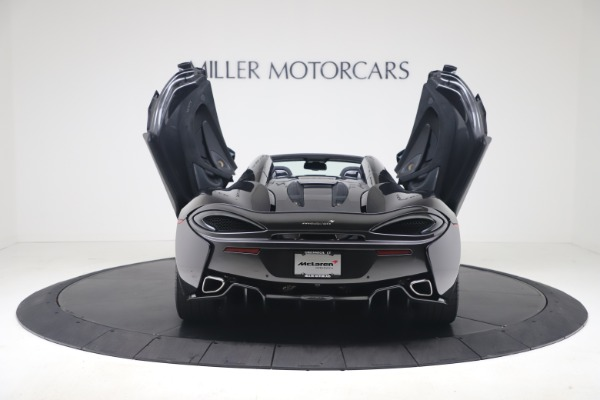 Used 2019 McLaren 570S Spider Convertible for sale $189,900 at Pagani of Greenwich in Greenwich CT 06830 21