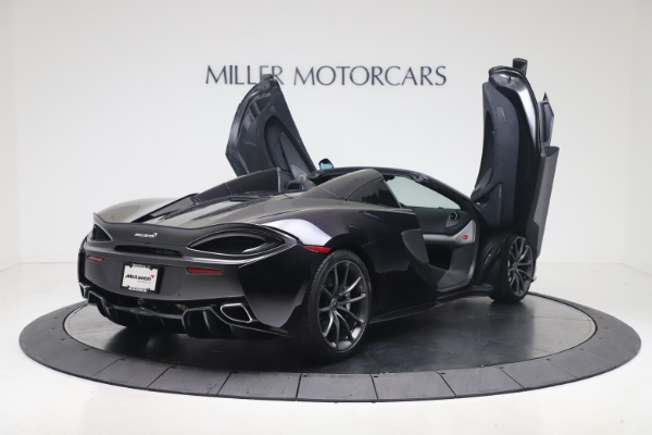 Used 2019 McLaren 570S Spider for sale Call for price at Pagani of Greenwich in Greenwich CT 06830 22