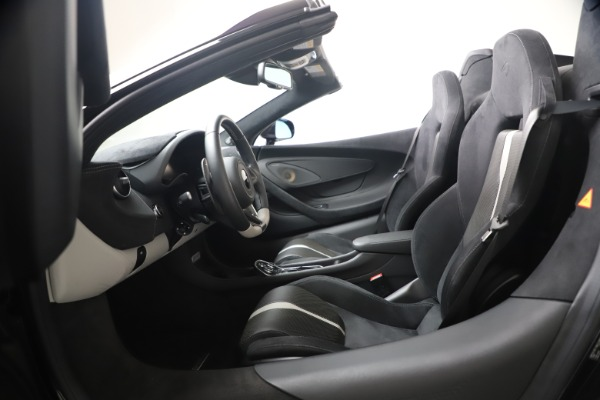 Used 2019 McLaren 570S Spider for sale Call for price at Pagani of Greenwich in Greenwich CT 06830 27