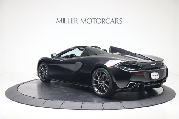 Used 2019 McLaren 570S Spider for sale Call for price at Pagani of Greenwich in Greenwich CT 06830 3