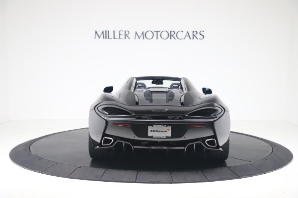 Used 2019 McLaren 570S Spider for sale Call for price at Pagani of Greenwich in Greenwich CT 06830 4