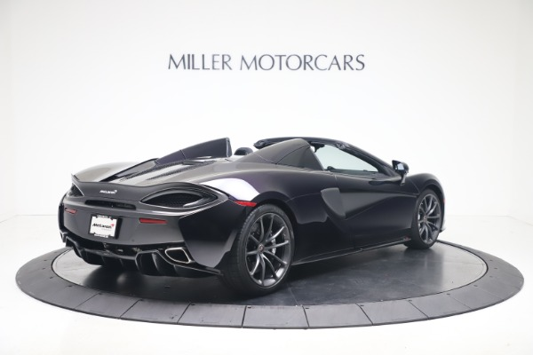 Used 2019 McLaren 570S Spider for sale Call for price at Pagani of Greenwich in Greenwich CT 06830 5