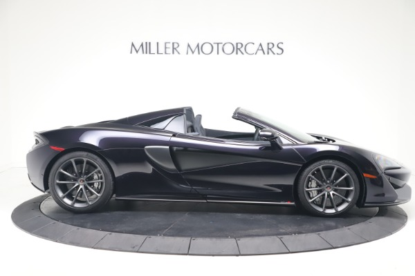 Used 2019 McLaren 570S Spider for sale Call for price at Pagani of Greenwich in Greenwich CT 06830 6