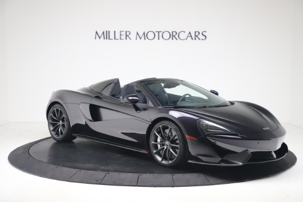 Used 2019 McLaren 570S Spider Convertible for sale $189,900 at Pagani of Greenwich in Greenwich CT 06830 7