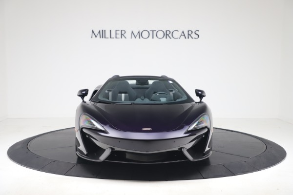 Used 2019 McLaren 570S Spider Convertible for sale $189,900 at Pagani of Greenwich in Greenwich CT 06830 8