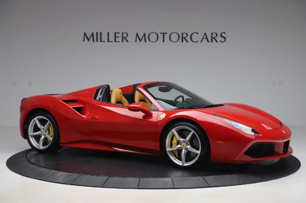 Used 2018 Ferrari 488 Spider Base for sale $289,900 at Pagani of Greenwich in Greenwich CT 06830 10