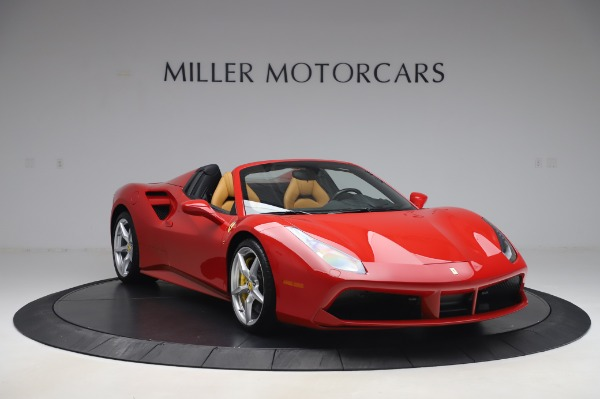 Used 2018 Ferrari 488 Spider Base for sale $289,900 at Pagani of Greenwich in Greenwich CT 06830 11