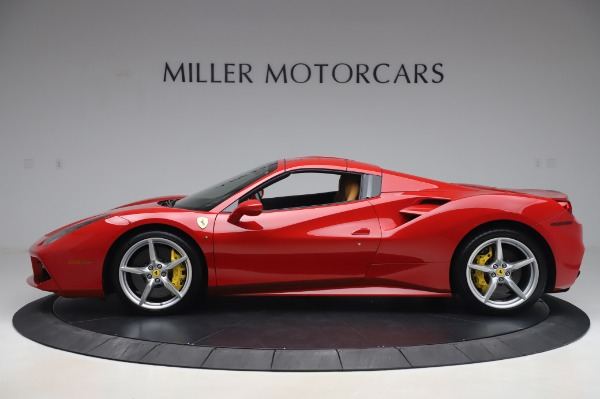Used 2018 Ferrari 488 Spider Base for sale $289,900 at Pagani of Greenwich in Greenwich CT 06830 13