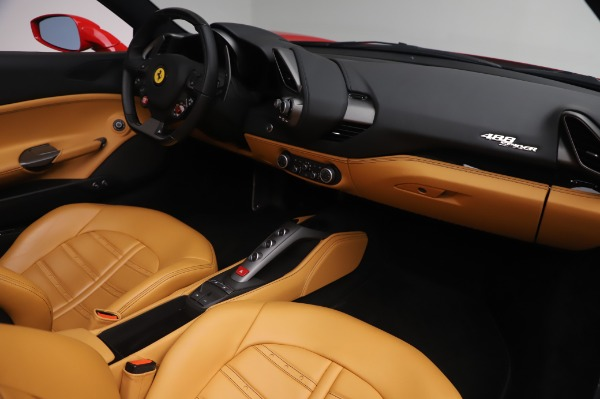 Used 2018 Ferrari 488 Spider Base for sale $289,900 at Pagani of Greenwich in Greenwich CT 06830 23
