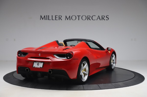 Used 2018 Ferrari 488 Spider Base for sale $289,900 at Pagani of Greenwich in Greenwich CT 06830 7