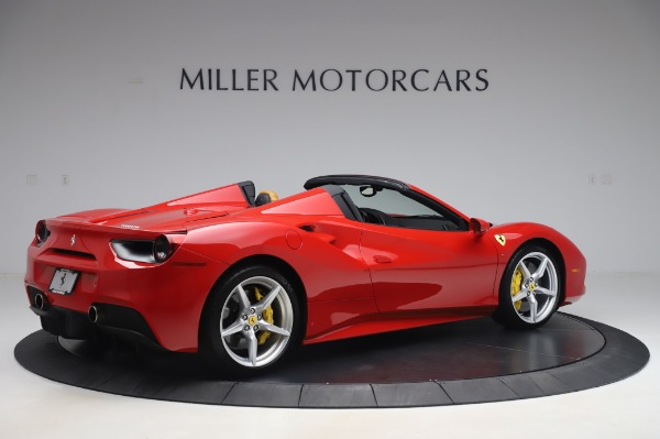 Used 2018 Ferrari 488 Spider Base for sale $289,900 at Pagani of Greenwich in Greenwich CT 06830 8