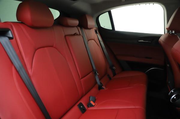 New 2020 Alfa Romeo Stelvio Ti Q4 for sale Sold at Pagani of Greenwich in Greenwich CT 06830 27