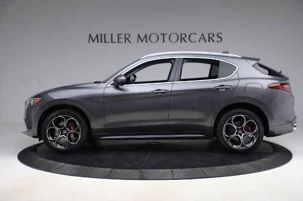 New 2020 Alfa Romeo Stelvio Ti Q4 for sale Sold at Pagani of Greenwich in Greenwich CT 06830 4