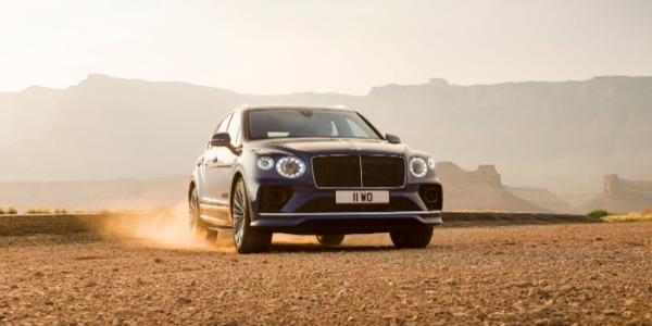 New 2021 Bentley Bentayga Speed for sale Sold at Pagani of Greenwich in Greenwich CT 06830 3