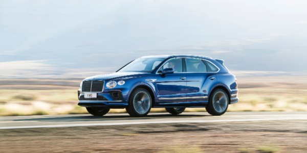 New 2021 Bentley Bentayga Speed for sale Sold at Pagani of Greenwich in Greenwich CT 06830 1