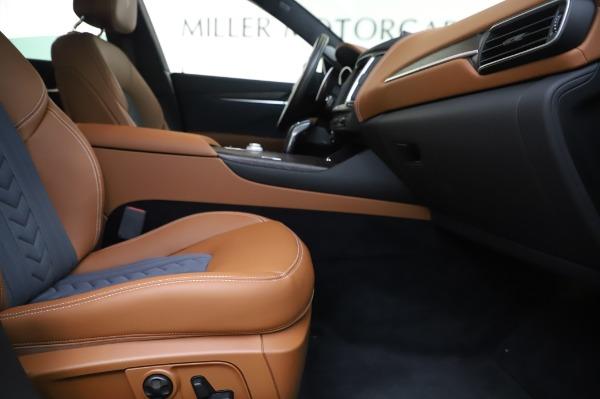 New 2020 Maserati Levante Q4 GranLusso for sale $88,635 at Pagani of Greenwich in Greenwich CT 06830 23