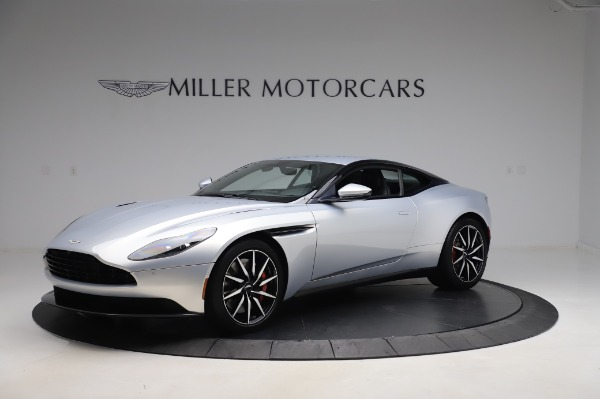 Used 2018 Aston Martin DB11 V8 Coupe for sale $147,900 at Pagani of Greenwich in Greenwich CT 06830 1