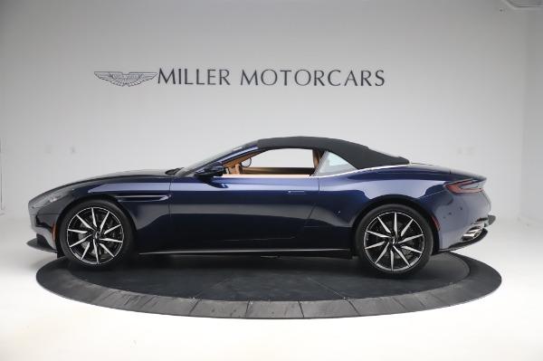 New 2020 Aston Martin DB11 Volante Volante for sale $248,326 at Pagani of Greenwich in Greenwich CT 06830 13