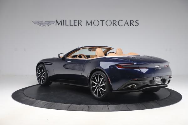 New 2020 Aston Martin DB11 Volante Volante for sale $248,326 at Pagani of Greenwich in Greenwich CT 06830 4